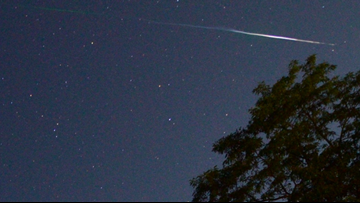 In case you missed it: Stunning Perseids meteor shower dazzled while massive hailstones wider than a DVD shattered a Colorado record