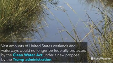 Trump administration redefines 'Waters of the U.S.' in new proposal