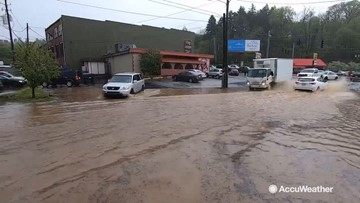 'This has been all day' never ending rain giving residents a flood fight