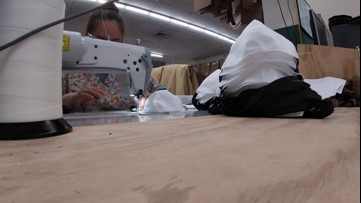 Furniture maker now sewing medical masks