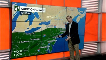 More rain to pound the Ohio Valley and East this week