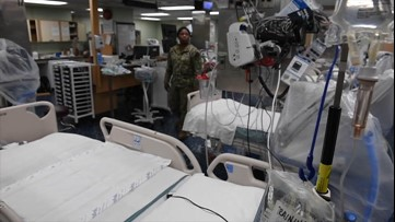 U.S. Navy ship to provide New York City hospitals relief