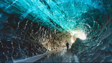 Mesmerizing Ice Caves Hide Beneath Europe's Largest Glacier