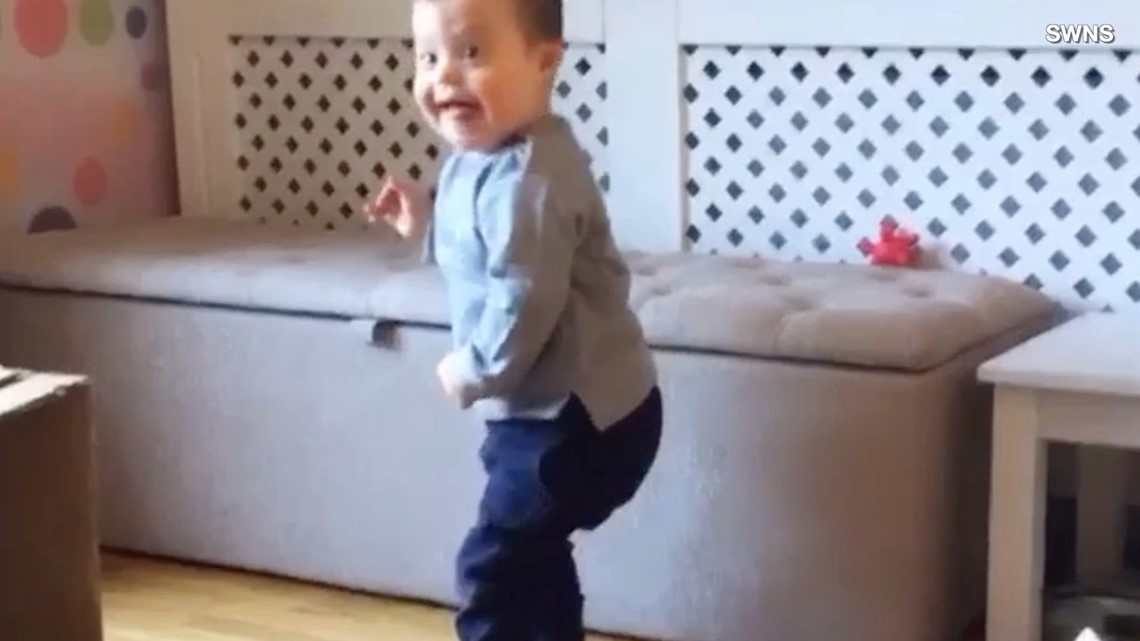 This Is the Moment Toddler With Down Syndrome Defies Prognosis, Stands for the First Time