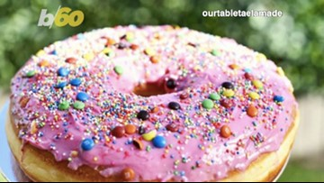 Costco Is Selling A Giant, Strawberry Frosted Cake with M&Ms and Sprinkles