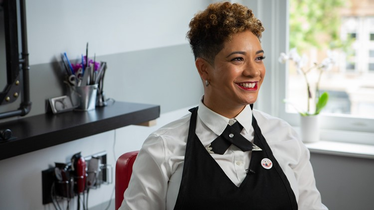 This barber opened her own all-female run shop to help promote inclusivity