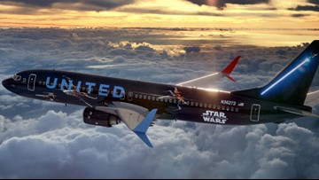 You now have the chance to fly on United Airlines' 'Star Wars' plane