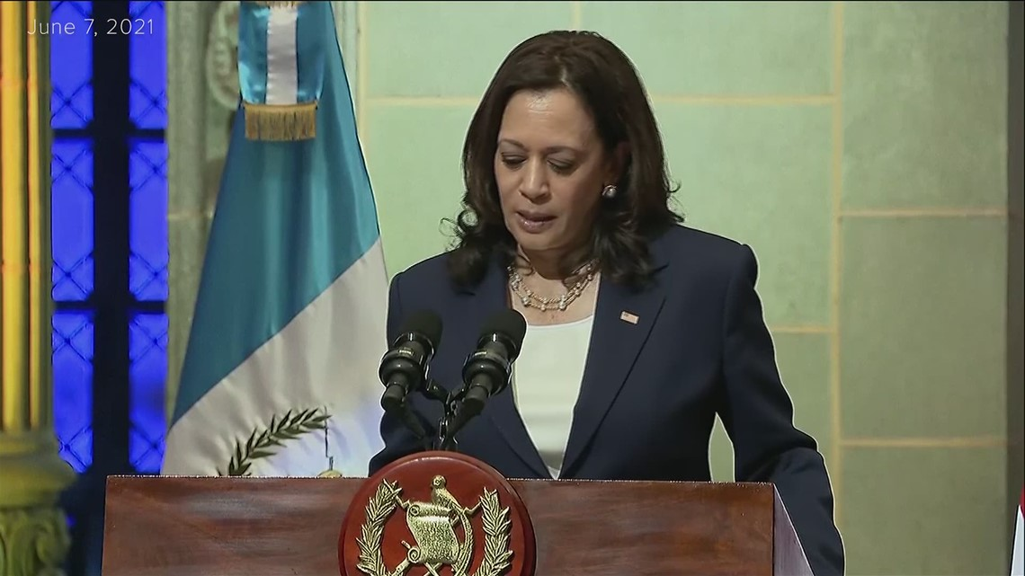 Vice President Harris tells migrants trekking from Guatemala, 'Do not come'