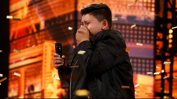 12-year-old Broadway hopeful shines on 'AGT,' earns golden buzzer