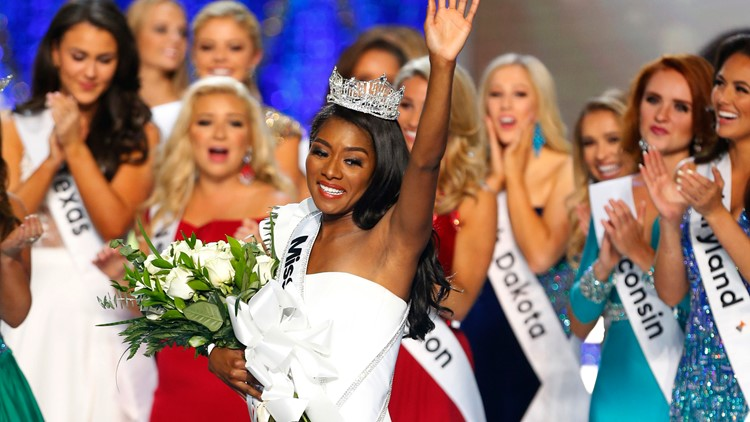 Miss New York Nia Franklin wins Miss America 2019