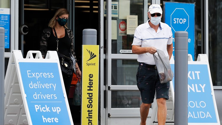 Walmart updates mask policy for stores in COVID hot spots