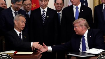 Trade deal signed: US eases sanctions, China will buy more exports