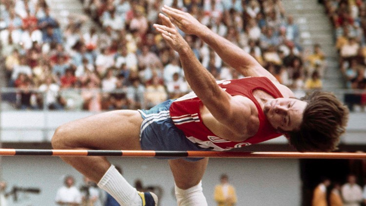 Olympics Decathlon Jenner