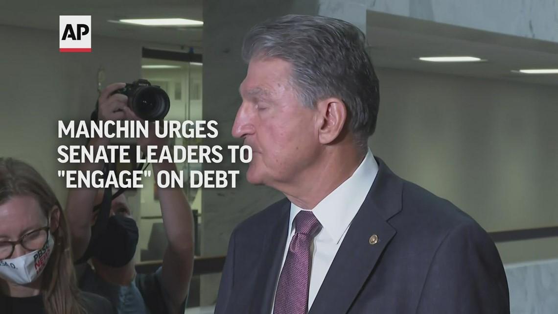 Manchin urges Senate leaders to 'engage' on debt