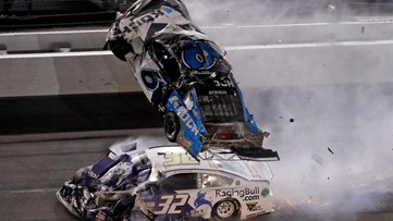 Ryan Newman in 'serious condition' after violent Daytona 500 crash