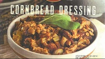 Cornbread dressing, bread stuffing recalled for listeria concerns