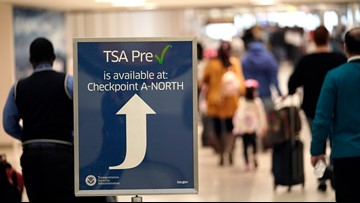 TSA claimed $960K in loose change left at checkpoints last year