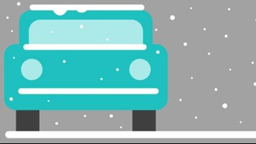 How to drive safely in snow and ice. Hint: Steer into the skid