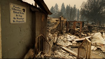 Guard troops search for more California wildfire victims; 56 dead