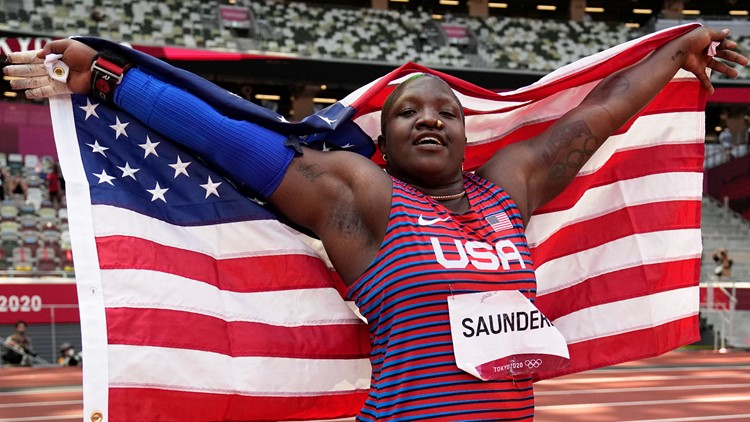 After death of Raven Saunders' mom, IOC suspends probe into podium protest