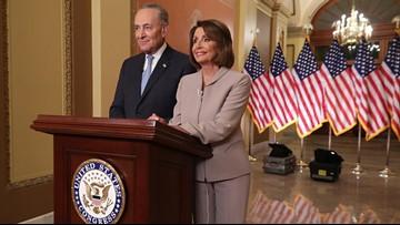 House Speaker Pelosi accuses President Trump of having 'chosen fear'