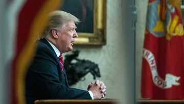 Trump urges wall funding to fix border crisis in TV address