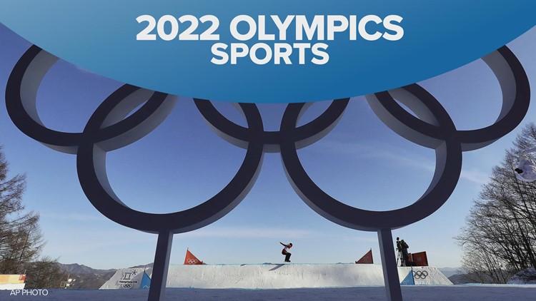 2022 Beijing Winter Olympics sports