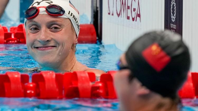 Katie Ledecky bids farewell to Tokyo Games