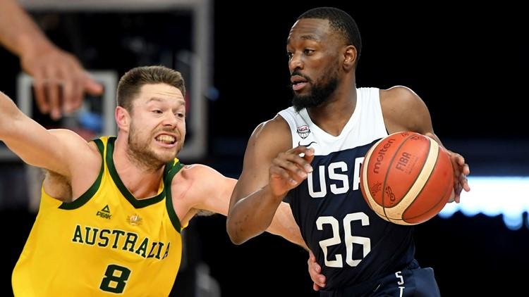 Australia US Basketball