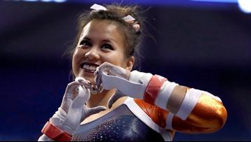 Injured gymnast Samantha Cerio sets goal to walk down aisle at her wedding