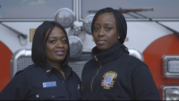 Mother and daughter battle blazes — and stereotypes about firefighting