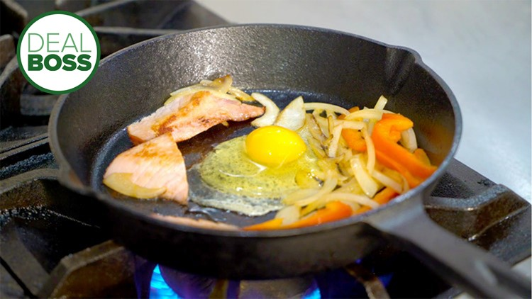 How to get an entire cast iron skillet set for under $50