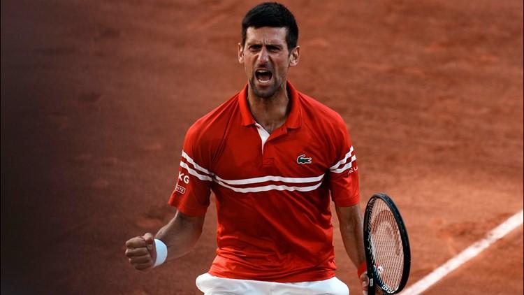 Novak Djokovic tops Tsitsipas at French Open for Slam 19 after comeback