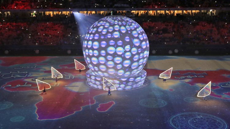 Qatar Al Wakrah WC Stadium Inauguration