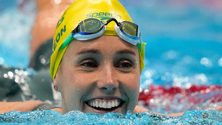 Aussie McKeon wins 7th medal with relay gold