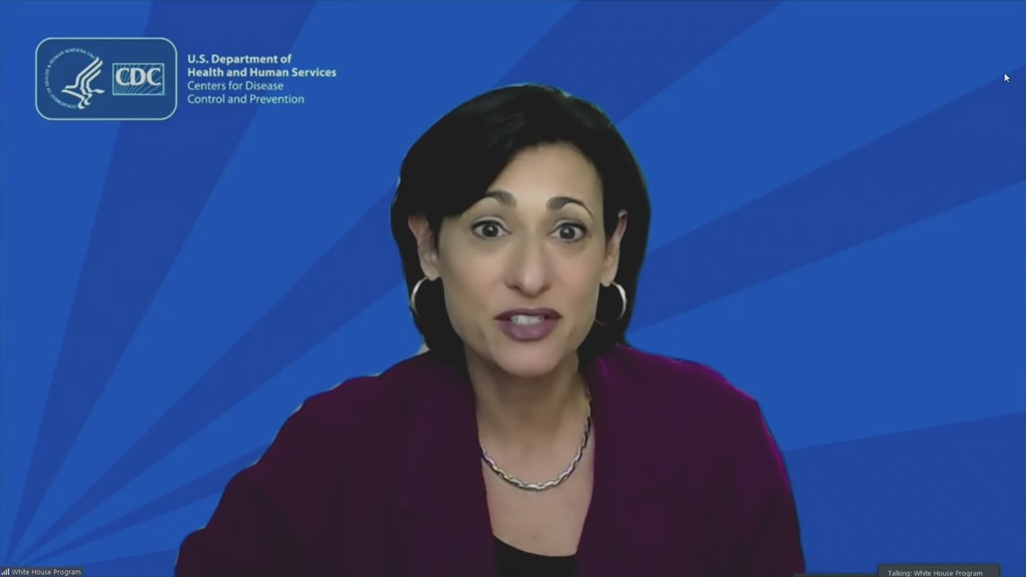 CDC director reports continued decline in COVID-19 hospitalizations