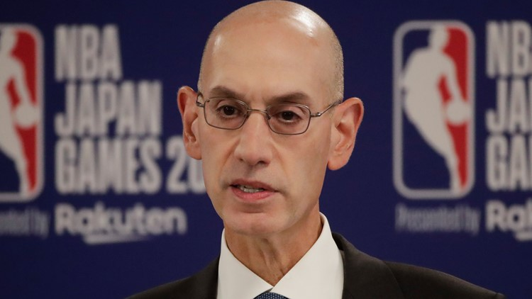 Japan Rockets Raptors Basketball Adam Silver