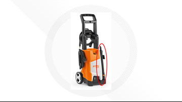 STIHL recalling pressure washer wand which can disconnect while in use