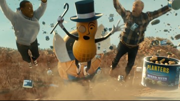 Planters just killed Mr. Peanut in a Super Bowl pregame ad