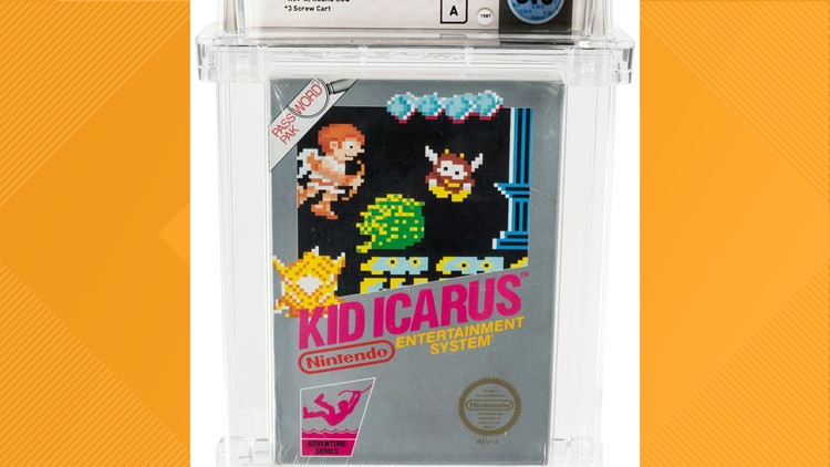 Classic Video Game-Auction Kid Icarus
