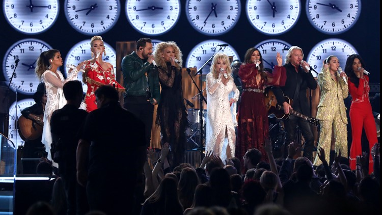 dolly parton grammy awards tribute