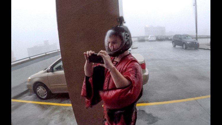 Friday Hurricane Florence In Wilmington Skydiver