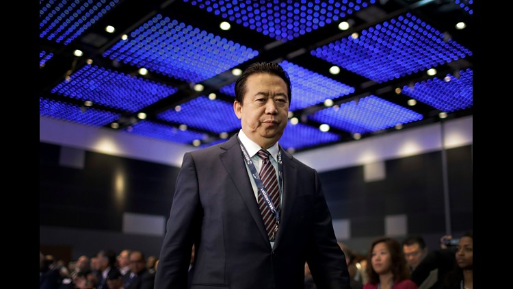 Interpol chief Meng Hongwei reportedly vanishes on visit to China