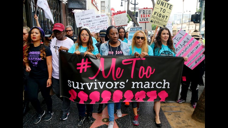 Ap Aptopix Metoo March A Ent Usa Ca