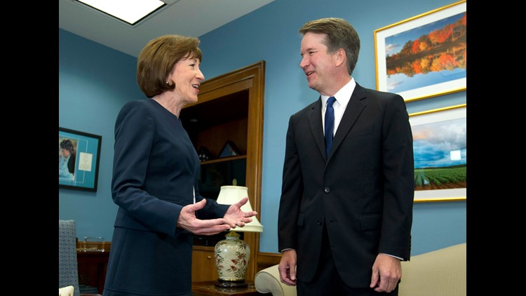 Sen. Collins to reveal how she'll vote on Kavanaugh