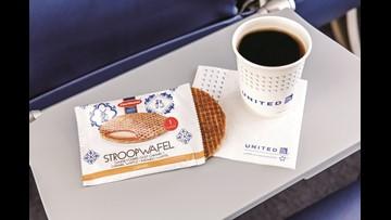 Sweet! United is bringing back the Stroopwafel, passengers' cult-favorite snack