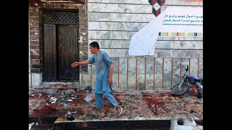 Another 119 people were wounded in Sunday's attack, Public Health Ministry spokesman Wahid Majro said.
