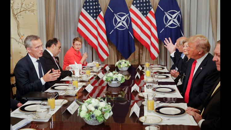 AP TRUMP NATO SUMMIT I BEL