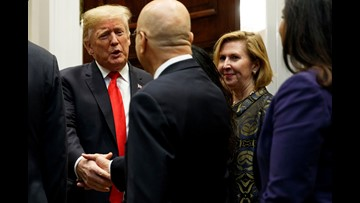 President Trump reassigns Mira Ricardel, the deputy national security adviser the first lady wanted fired