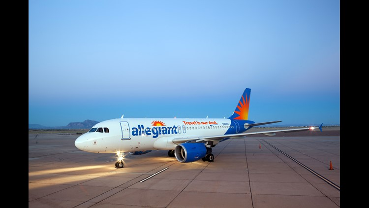 Allegiant to offer nonstop flights from Norfolk to Jacksonville